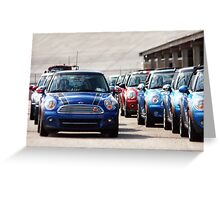 March of the Minis Greeting Card