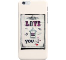 Love = You and I iPhone Case/Skin