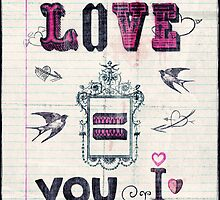 Love = You and I by Sybille Sterk