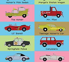 Simpsons Cars by Simon04