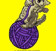 Wrecking Ball Kitty by theneitherworld