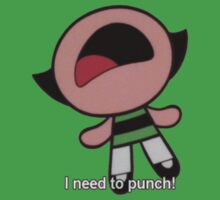 Buttercup - I need to punch! by Carla  Rosales