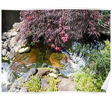 Waterfall in the Garden 280 Poster