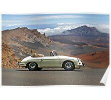 Porsche 356 Cabriolet Poster