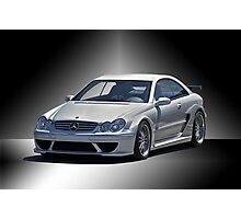 Mercedes Sports Coupe Photographic Print
