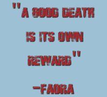 Faora's Death Speech by REDROCKETDINER