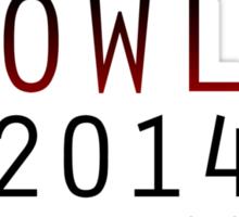 Supernatural - Vote Crowley (Red) Sticker