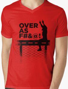 Over As F#&@! Mens V-Neck T-Shirt