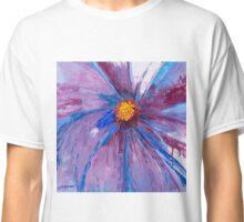 Mauve Floral Classic T-Shirt