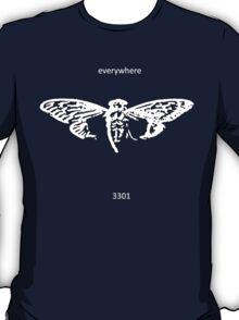 Cicada 3301 everywhere white T-Shirt