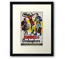 Zombies of the Stratosphere Framed Print
