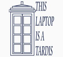 This Laptop Is A TARDIS by Amanda Vontobel Photography
