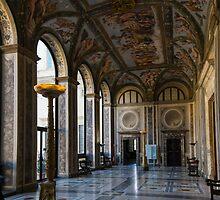 The Opulent Loggia in Villa Farnesina, Rome, Italy - 1 by Georgia Mizuleva