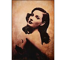 Dita (sepia) Photographic Print