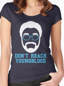 Don't Reach Youngblood (2) Women's Fitted Scoop T-Shirt
