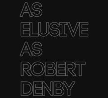 As Elusive As Robert Denby by Andrew Weaver