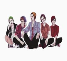cartoon beanie one direction by pastelxprints