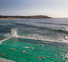 Iceberg Pool at Bondi, Sydney by Jodie Johnson