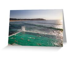 Iceberg Pool at Bondi, Sydney Greeting Card