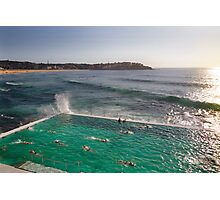 Iceberg Pool at Bondi, Sydney Photographic Print