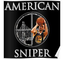 Steph Curry - American Sniper Poster
