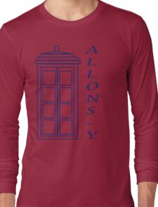 Allons-y! - Doctor Who Long Sleeve T-Shirt