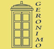 Geronimo! - Doctor Who Baby Tee