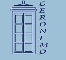 Geronimo! - Doctor Who Womens Fitted T-Shirt