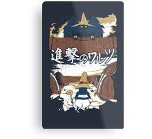 Attack on Waltz - Shingeki no Waltz Metal Print