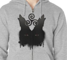 Wolf Pack – NEW DESIGN Zipped Hoodie