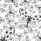 Butterflies by TinaGraphics