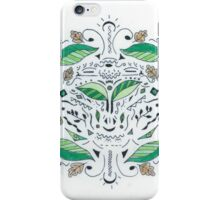 Colored Leaves Pattern iPhone Case/Skin