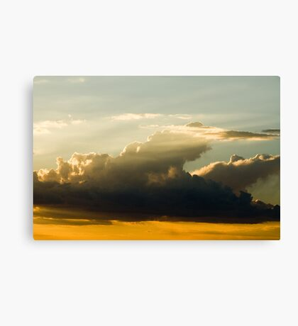 Clouds-10 Canvas Print