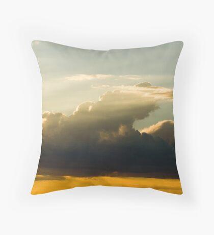 Clouds-10 Throw Pillow