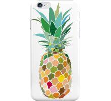 Pineapple print iPhone Case/Skin