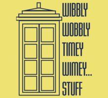 Wibbly Wobbly Timey Wimey...Stuff One Piece - Short Sleeve