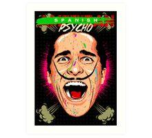 American Psycho Spanish Edition Art Print