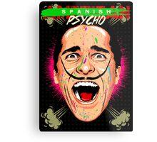 American Psycho Spanish Edition Metal Print