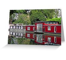 On Regent Canal Greeting Card