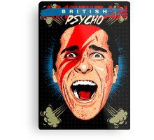 American Psycho British Edition Metal Print