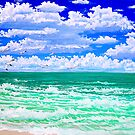 nothin but the beach and sky by LoreLeft27