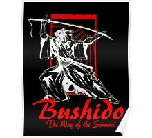 """""""Bushido"""" by Carter L. Shepard Poster"""