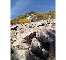Devils Lake Wisconsin Climb Photographic Print