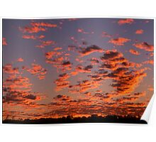Alice Springs Sunset Poster