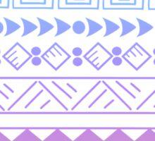 Rainbow Aztec Sticker