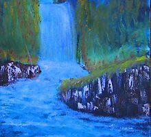 """""""Forgotten Falls"""" by Carter L. Shepard by echoesofheaven"""