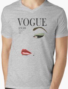 Vogue 1950 Mens V-Neck T-Shirt
