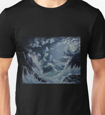 STORMY SEA Unisex T-Shirt