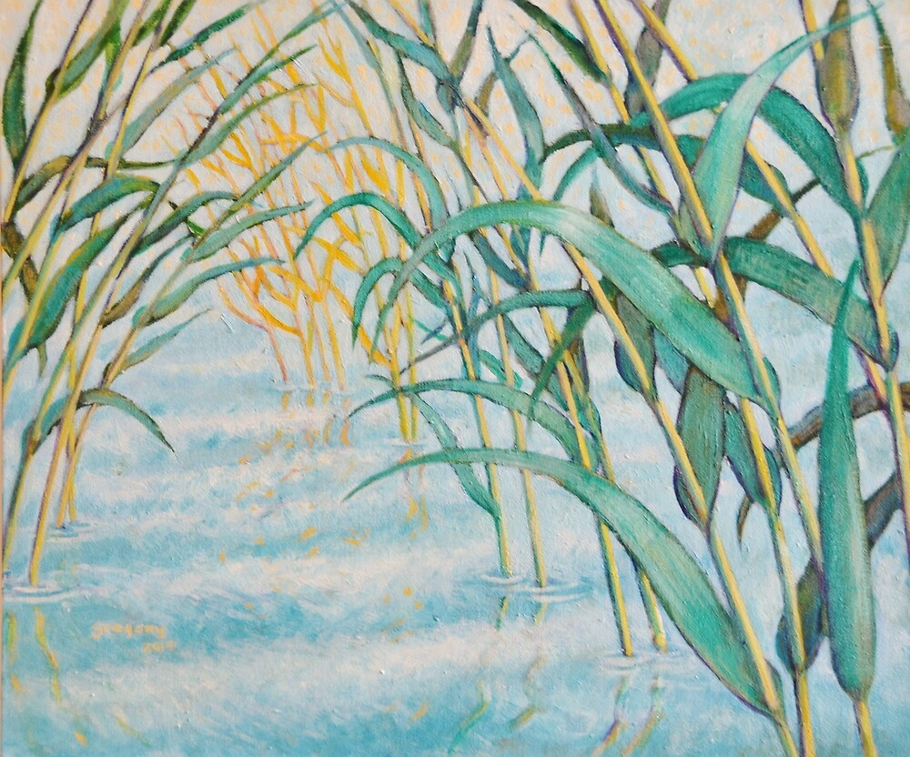 In the reeds by Gregory Pastoll
