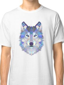Triangle Wolf Design Classic T-Shirt